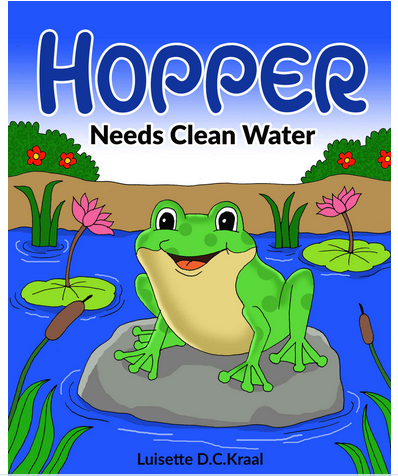 Book Cover: Hopper Needs Clean Water